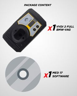 VVDI 2 FULL BMW-VAG + MED 17
